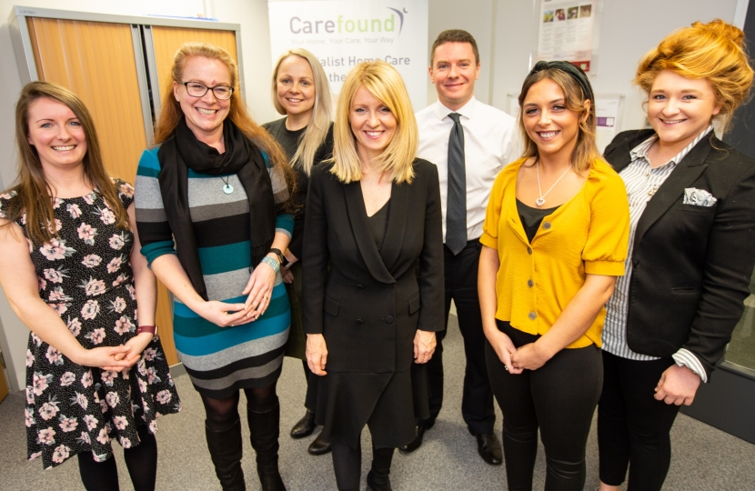 Esther meets the Carefound team