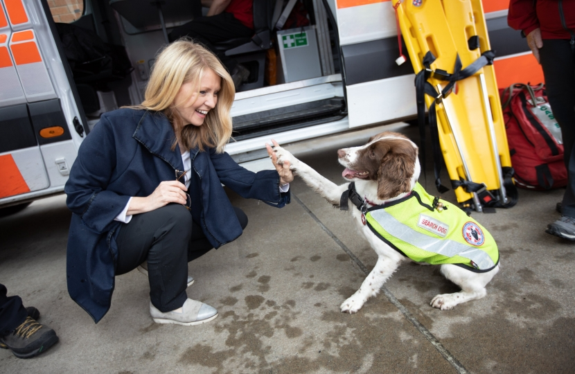 Search and Rescue Dog, Isla