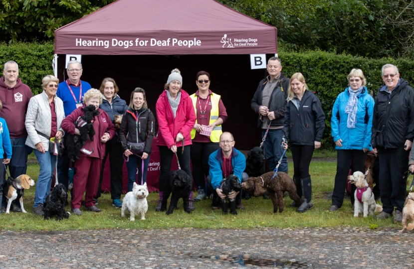 Hearing Dogs for the Deaf Sponsored Walk, Arley