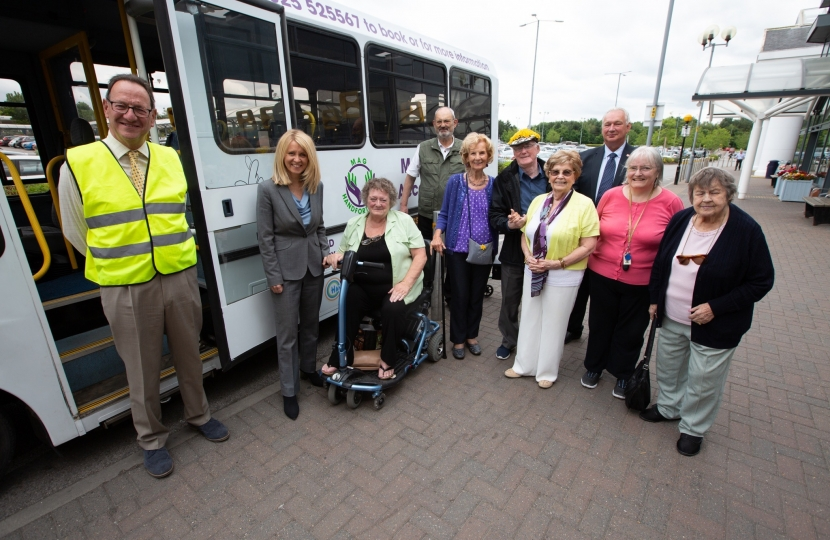 MAG bus launch, Handforth